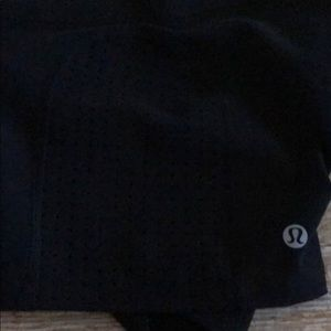 lululemon athletica Shorts - Lululemon Black Sweat to Swim Shorts 2 4